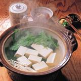 まるっぽ豆腐 湯豆腐